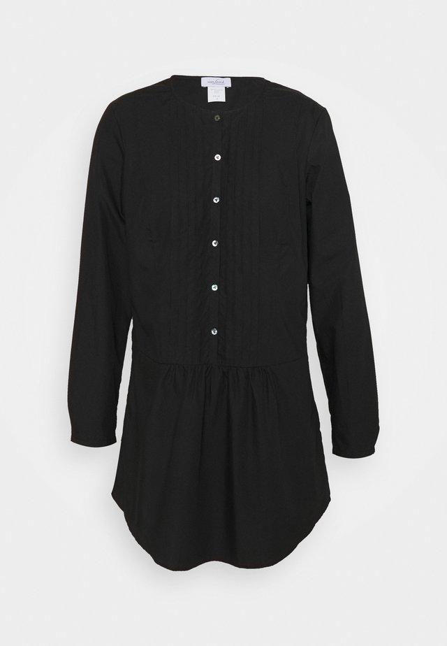 PRUE - Blusenkleid - black