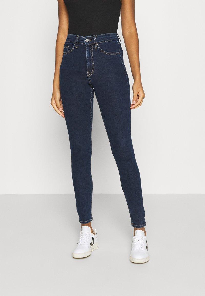 Even&Odd - Jeans Skinny Fit - dark blue denim