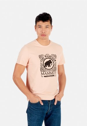CHALK CAN  - Print T-shirt - orange, light pink