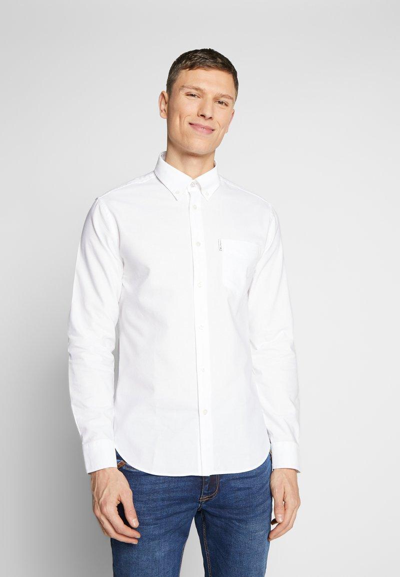 Ben Sherman - SIGNATURE OXFORD SHIRT - Shirt - white