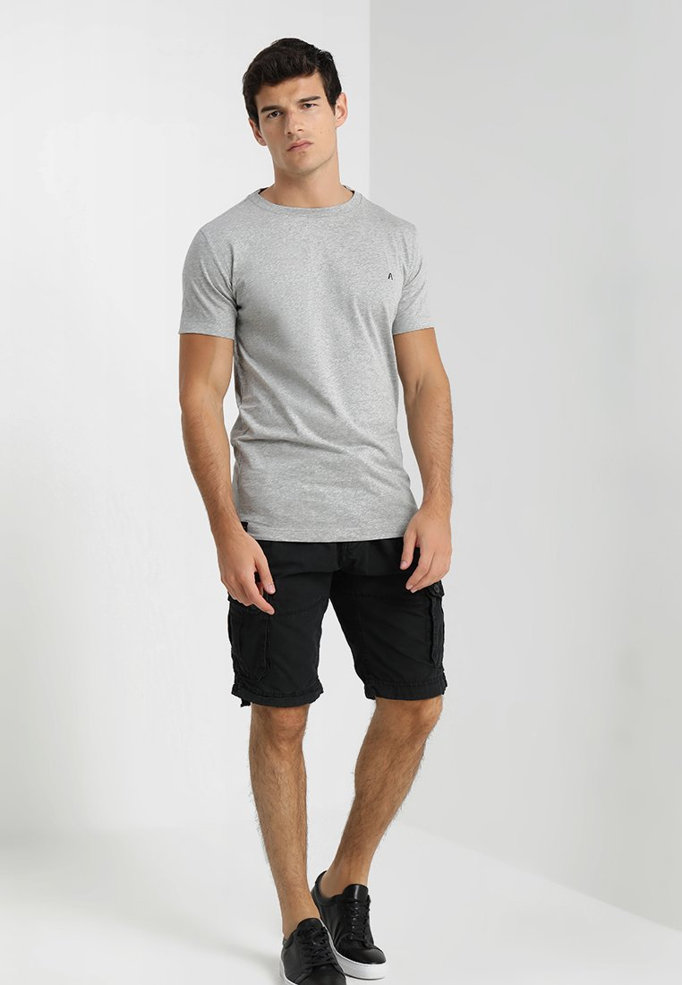 Replay - 2 PACK - T-shirt basic - grey melange