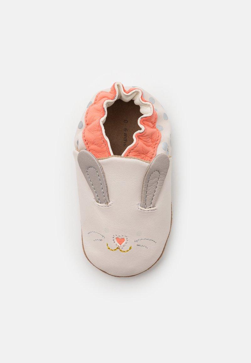 Robeez - MINI RABBIT - First shoes - beige clair