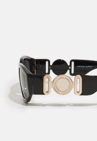 Vintage Supply - CHUNKY RECTANGLE UNISEX - Sunglasses - black - 2