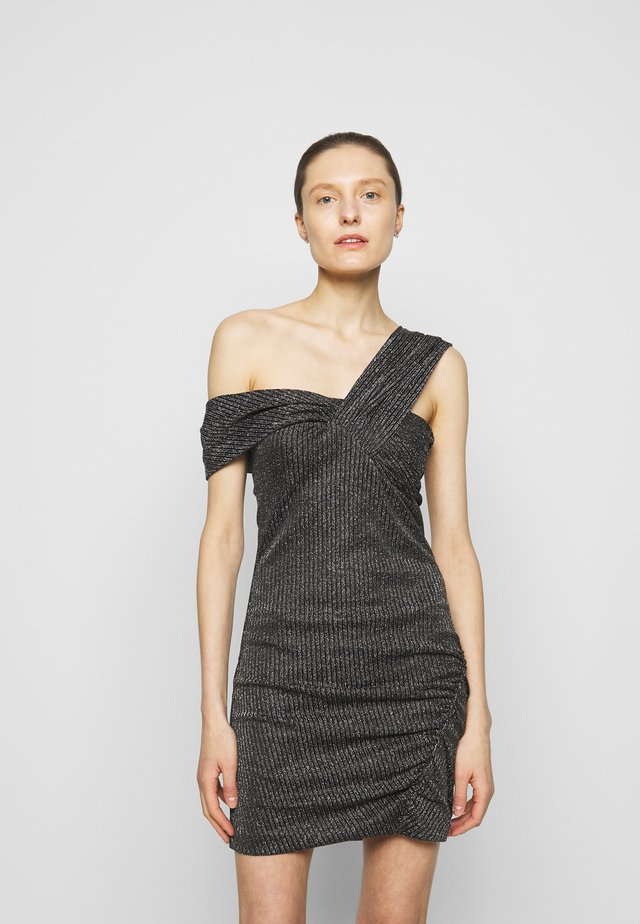 CLUB DRESS - Cocktailkjoler / festkjoler - black/silver