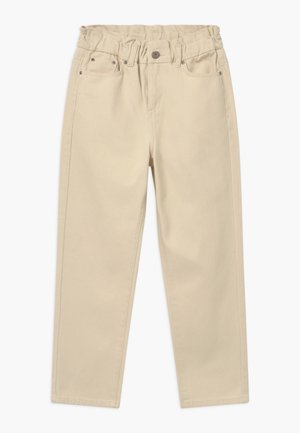 DICTE PAPERBAG - Jeans Relaxed Fit - off white