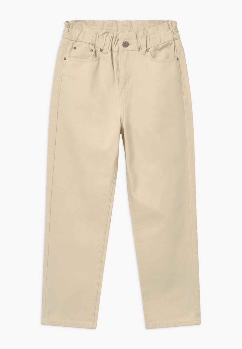 Grunt - DICTE PAPERBAG - Džíny Relaxed Fit - off white