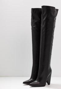 RAID - PLEXI - Laarzen met hoge hak - black - 4