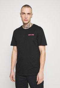 YOURTURN - T-shirt imprimé -  black - 2