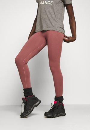 MULTIPATH LEGGING - Leggings - rose/brown
