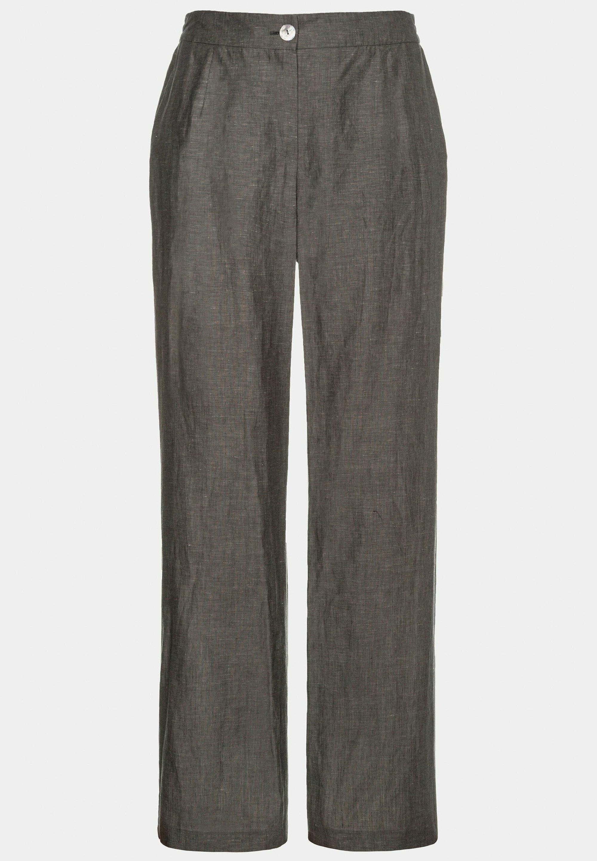 ULLA POPKEN Pantalon gris clair chiné NEUF