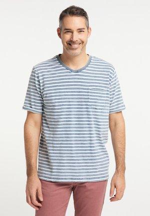 T-shirt print - indigoblue