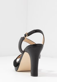 Anna Field - LEATHER HIGH HEELED SANDALS - Højhælede sandaletter / Højhælede sandaler - black - 5