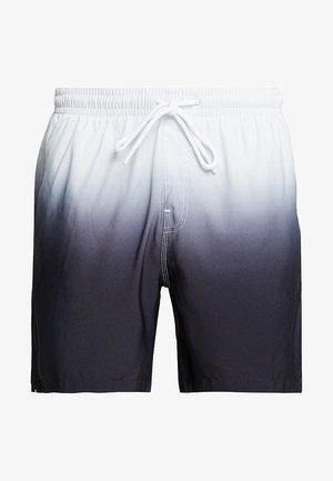DIP DYE SWIM - Plavky - white/black