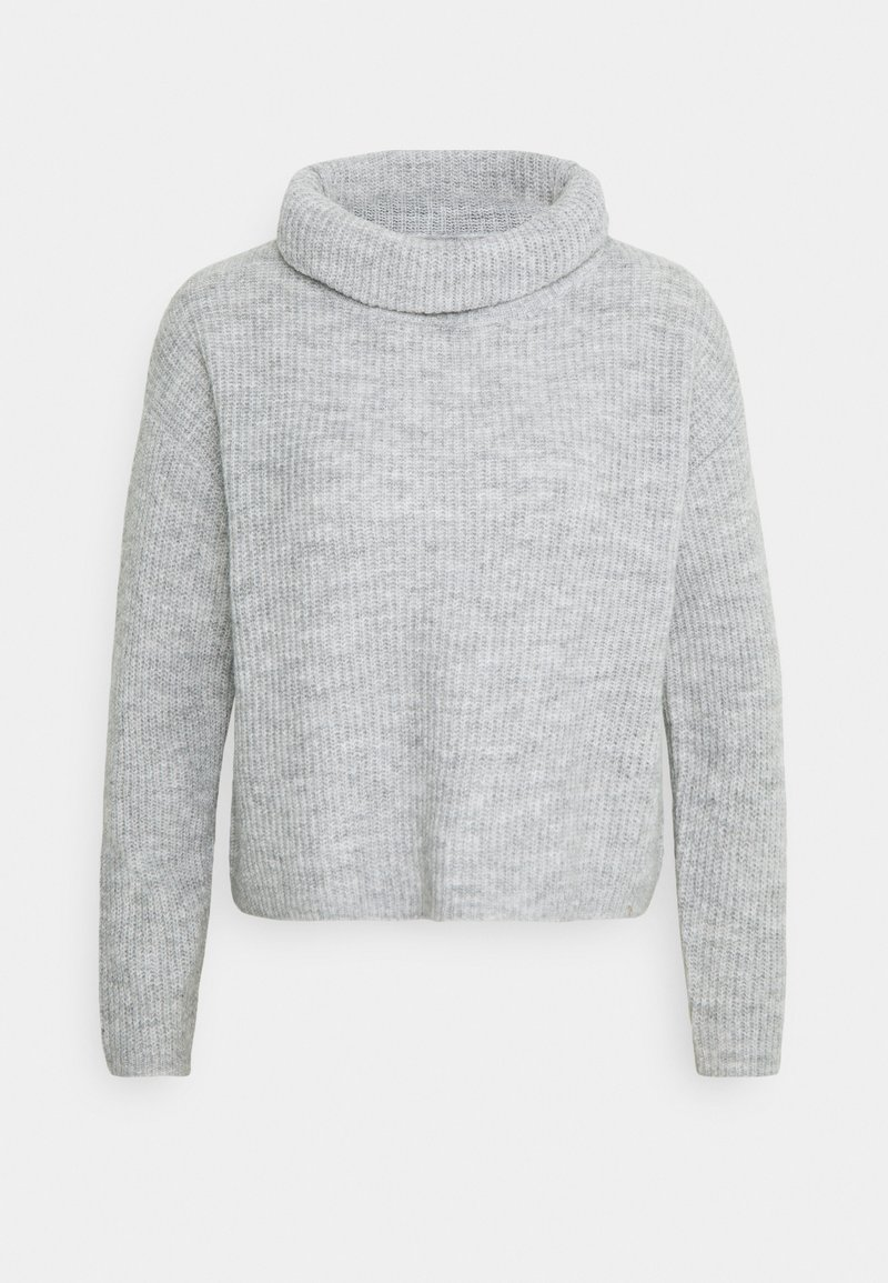 Anna Field - COWL NECK JUMPER - Jumper - mottled light grey