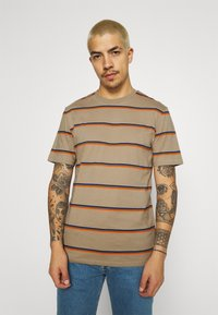 Only & Sons - ONSMARIO LIFE TEE  - T-shirt med print - chinchilla - 0