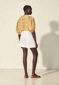 sandro - Shorts - blanc - 2