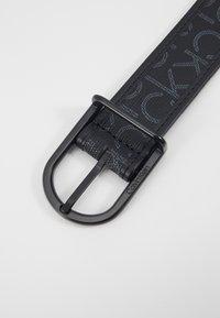 Calvin Klein - BRIDGE BUCKLE MIX MONO - Belt - black - 2