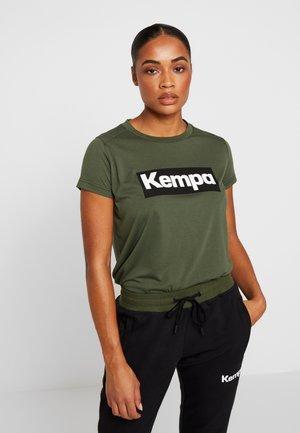 LAGANDA WOMEN - T-shirt med print - deep green