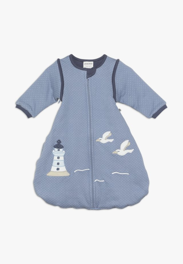 MIT ABNEHMBAREN ÄRMELN - Śpiworek niemowlęcy - blau