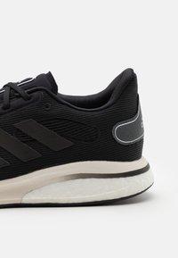 adidas Performance - SUPERNOVA BOOST PRIMEGREEN RUNNING SHOES - Neutrální běžecké boty - core black/grey six/silver metallic - 5