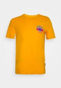UNISEX - Print T-shirt - yellow