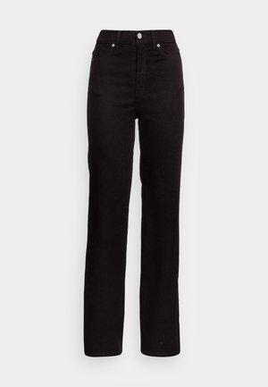 MOXY STRAIGHT - Džíny Straight Fit - solid black