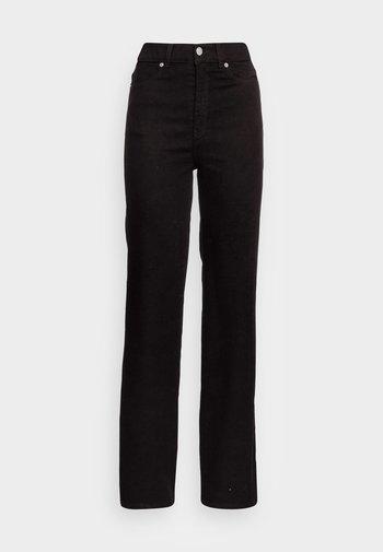 MOXY STRAIGHT - Straight leg jeans - solid black