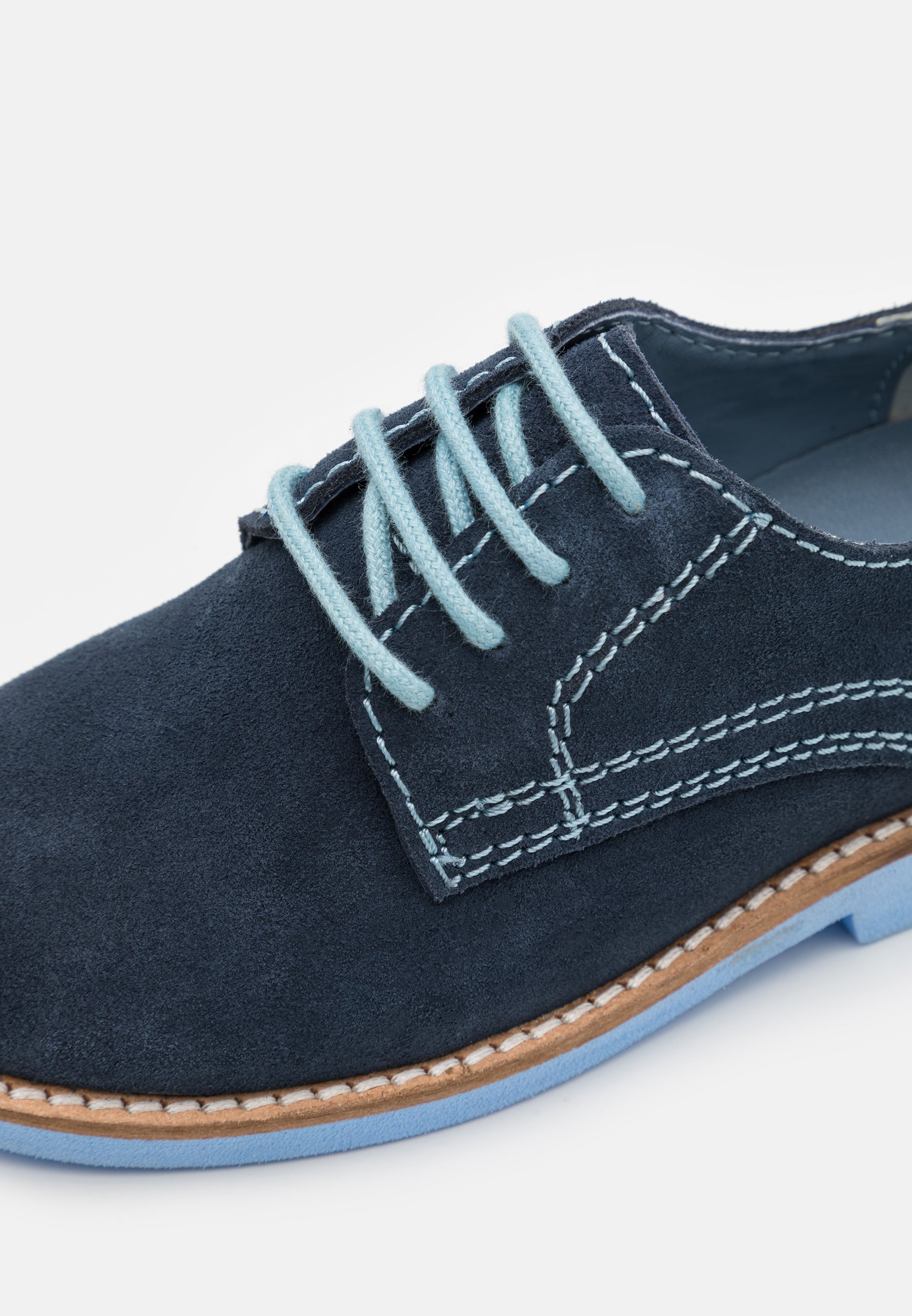 Kids LEATHER - Casual lace-ups
