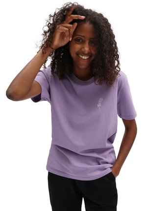 WM SLEEP CULT - T-shirt med print - chalk violet