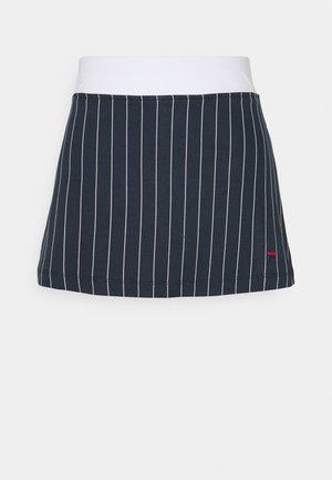 SKORT ANNA - Sports skirt - peacoat blue/white