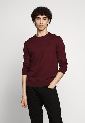 LONG SLEEVE - Jumper - classic wine heather