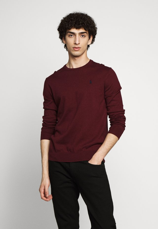LONG SLEEVE - Pullover - classic wine heather