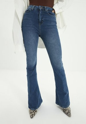 Bootcut jeans - navy blue