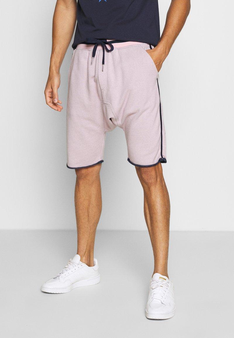 Schott - Shorts - pink/blue/navy
