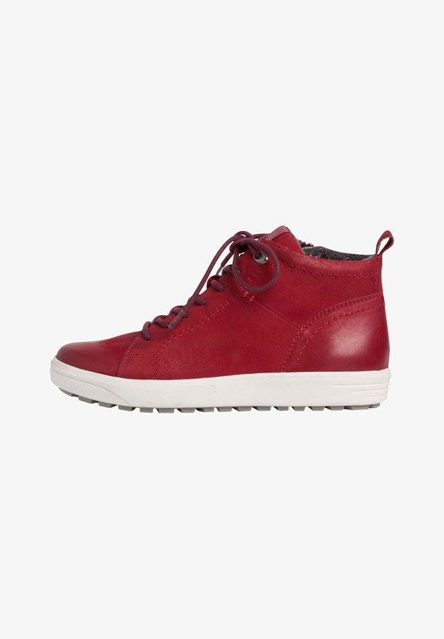 SNEAKER - High-top trainers - chili