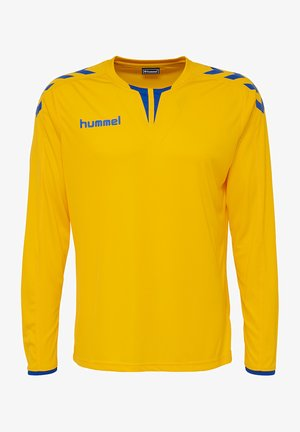 CORE LS POLY JERSEY - Long sleeved top - sports yellow/true blue