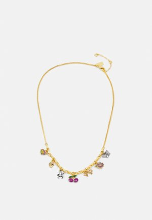 ELEVATED CHARMING CHARM NECKLACE - Bracelet - gold-coloured/multi