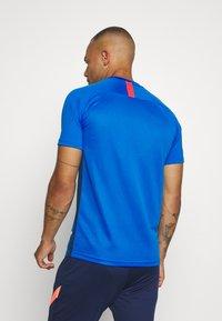 Nike Performance - DRY ACADEMY - Print T-shirt - soar/obsidian/laser crimson - 2