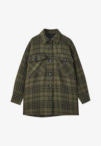 PULL&BEAR - Summer jacket - green - 5