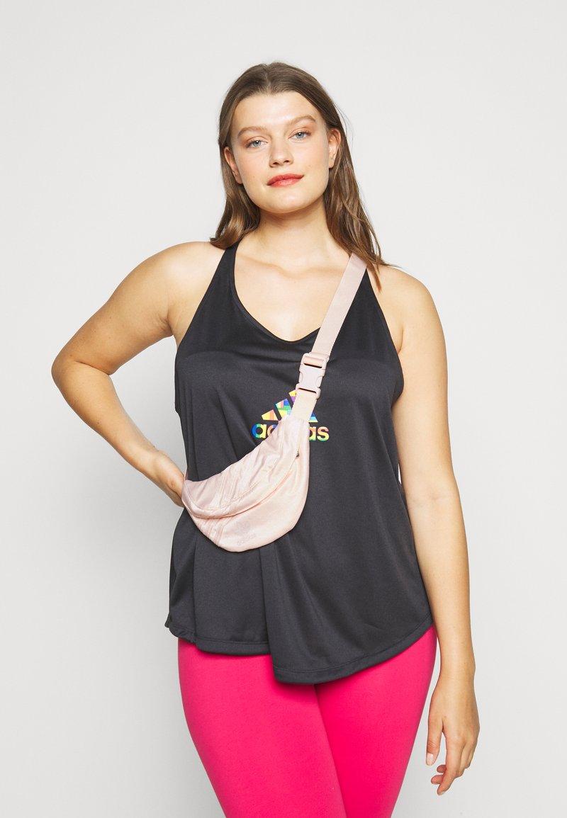 adidas Originals - FOR HER SPORTS INSPIRED WAISTBAG - Ledvinka - pink
