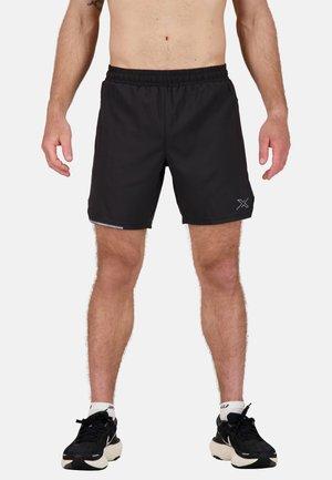 AERO  - Sports shorts - black/silver reflective