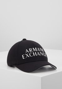 Armani Exchange - BASEBALL HAT - Casquette - black - 0