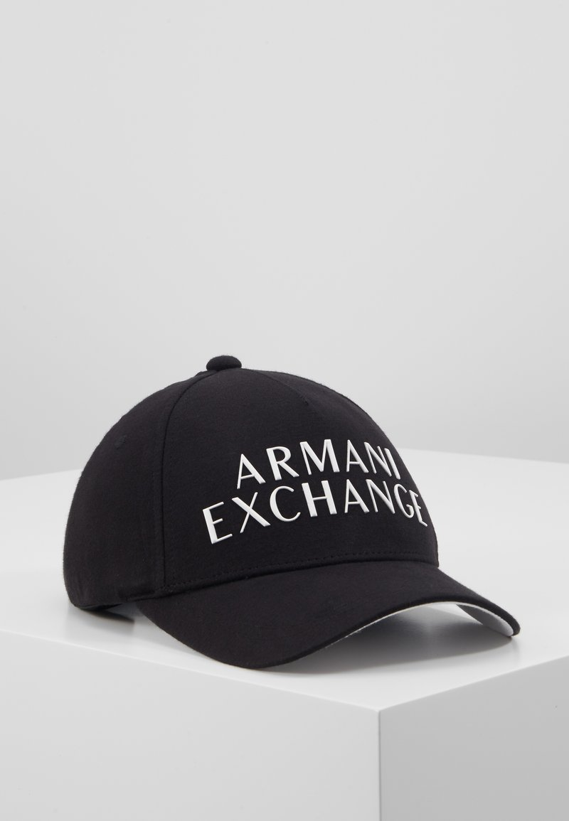 Armani Exchange - BASEBALL HAT - Casquette - black