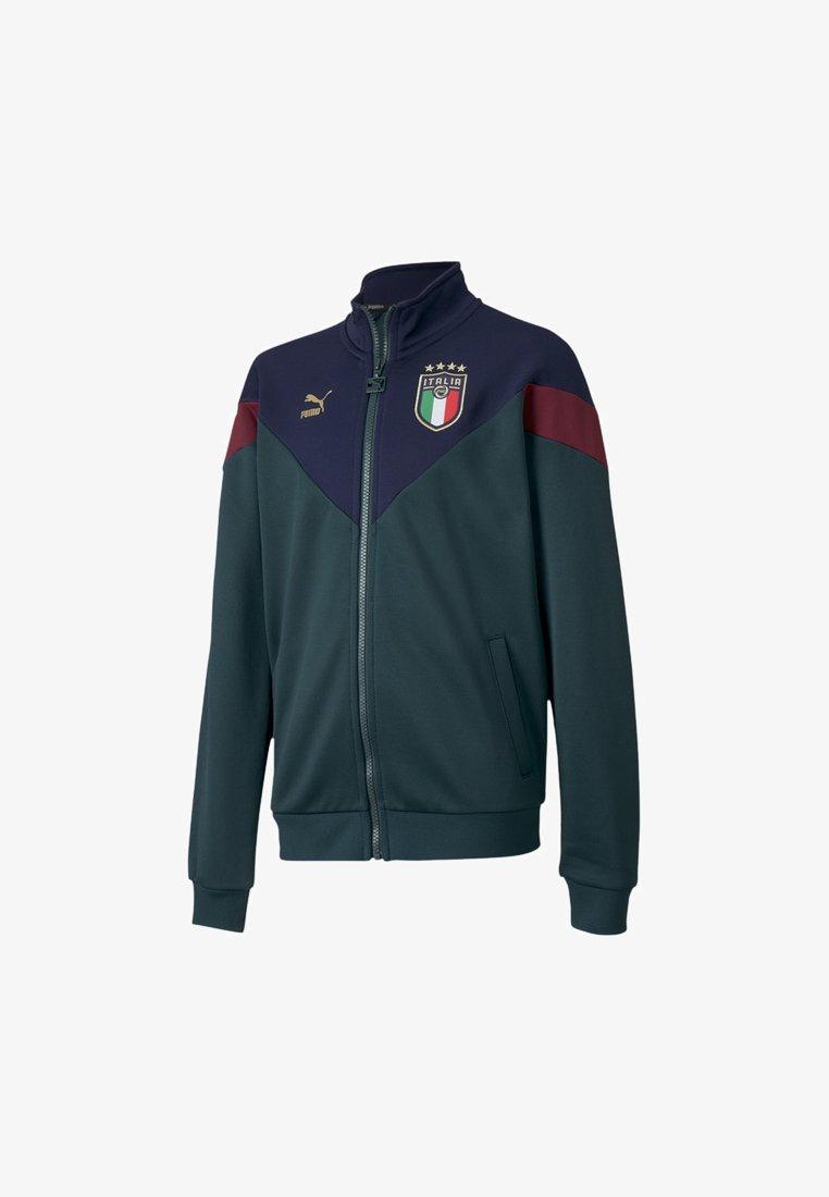 Puma - ITALIA - Training jacket - ponderosa pine-peacoat