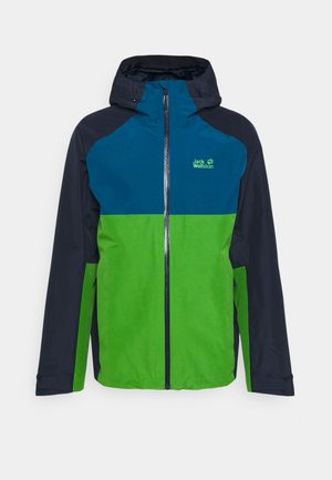 MOUNT ISA  - Waterproof jacket - basil green