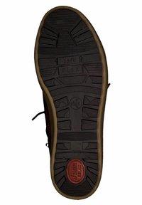 Jana - SNEAKER - Sneakers high - dk cognac napp - 4
