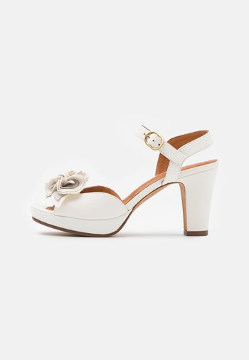 BRI EKUNE - Platform sandals - amareto/leche