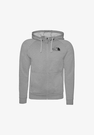 Zip-up sweatshirt - tnf light grey heather
