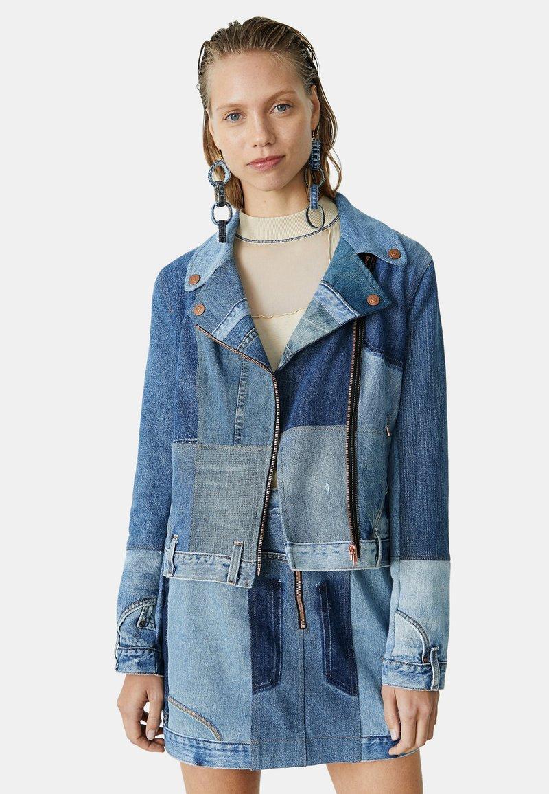 Desigual - Giacca di jeans - blue