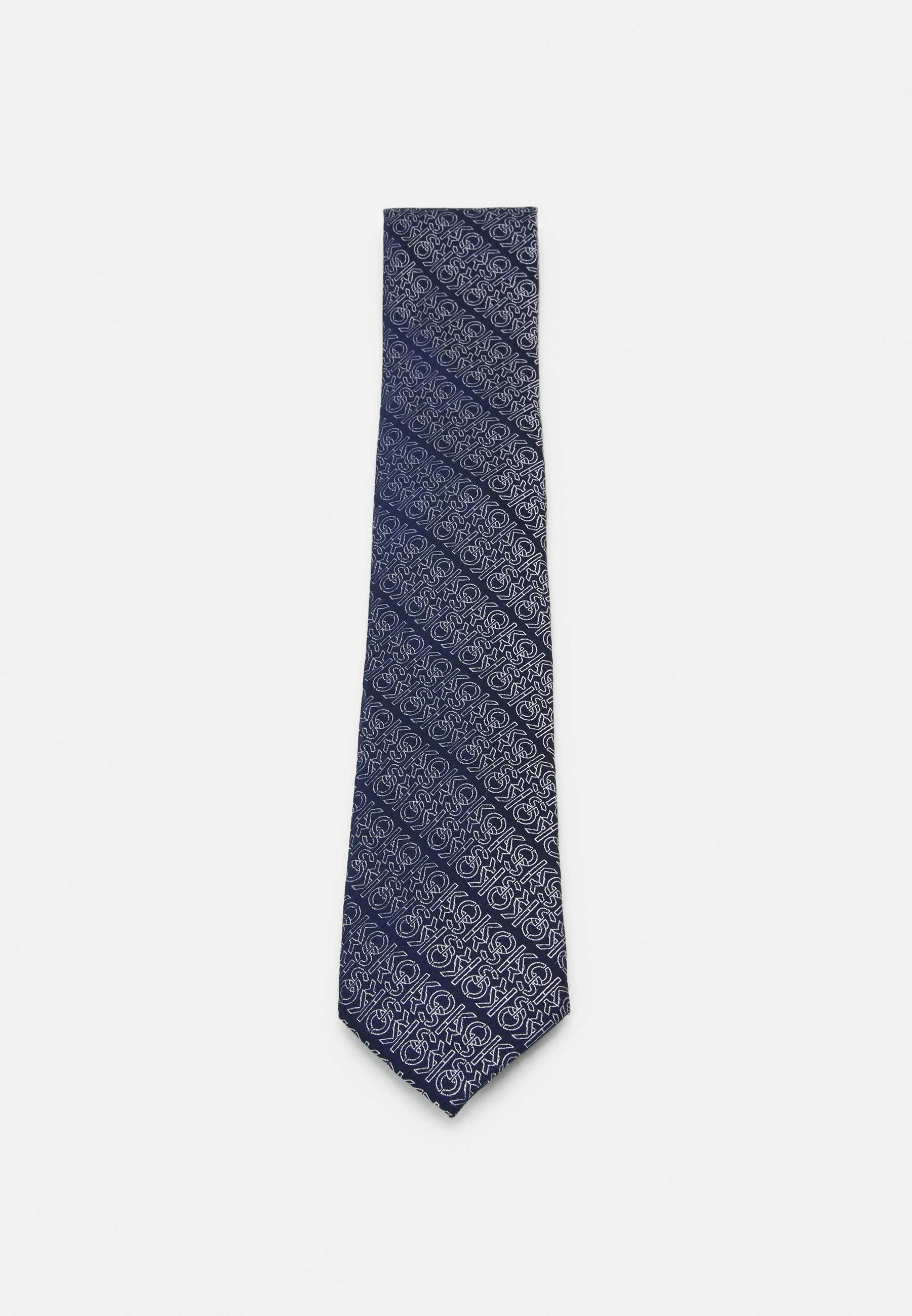 Men THINLY OUTLINED AND LINKED LOGO - Tie